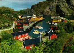 CPM AK Nusfjord I Lofoten NORWAY (833918) - Norway