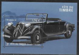 FRANCE, 2019, MNH, STAMP DAY, CARS, CITROEN , S/SHEET - Cars