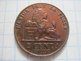2 Centimes 1857 - 1831-1865: Leopold I