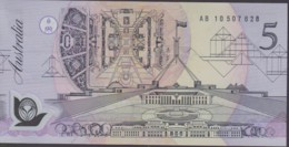 Australia 1992 Polymer $5 AB 10507628 Uncirculated - Emissions Gouvernementales Décimales 1966-...