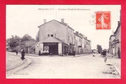 F-87-Bellac-08A36  Avenue Denfert Rochereau, Cpa BE - Bellac
