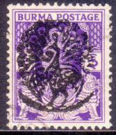 JAPANESE OCCUPATION OF BURMA 1942 SG #J12 3p Used CV £75 - Birma (...-1947)