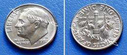 UNITED STATES USA 10 Cents (ONE DIME) 1992 D - ROOSEVELT - Bondsuitgaven