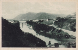 Monte Podgora (Gorizia) * Peuma, Fluss, Ufer, Brücke, Partie* Slowenien (Italien) * AK1009 - Slowenien