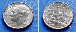 UNITED STATES USA 10 Cents (ONE DIME) 1993 D - ROOSEVELT - Bondsuitgaven
