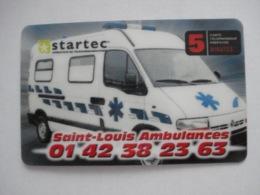 """Carte Prépayée Française """" Startec """" (carte D'essai). Petit Prix ! - France"""