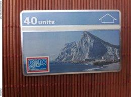 Phonecard Gibraltar  101K  Used Rare - Gibraltar