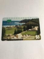 Norfolk Island - 1 Phonecard - Norfolk Eiland