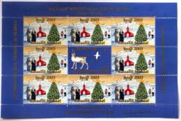GREENLAND   CHRISTMAS FULL SHEET FROM YEAR 2003 - Groenlandia