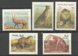 IRAQ  2003  FAUNA,ANIMALS  SET  MNH - Francobolli
