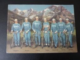 Fausto Coppi Gismondi Milano Carrea Italy Team Bianchi 1953 Cyclisme Radrennen Radsport  Cycling Velo Wielrennen Pirelli - Cyclisme