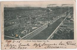 Stock Yard, Kansas City, Mo. - & Farming, Cattle - Kansas City – Kansas