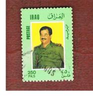 IRAQ    -  SG 1738 - 1986  PRESIDENT SADDAM HUSSEIN  - USED ° - Iraq