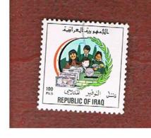 IRAQ    -  MI 1440 - 1989  POSTAL SAVINGS BANK 100  - USED ° - Iraq
