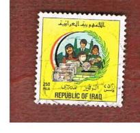 IRAQ    -  MI 1508 - 1993  POSTAL SAVINGS BANK 250  - USED ° - Iraq