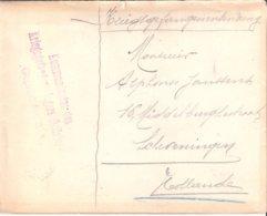 Lettre  De Prisonnier   1917. - Militaria