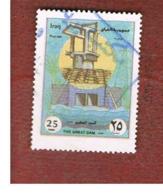 IRAQ    -  MI 1594 - 1999 DAM ON TIGRIS RIVER  - USED ° - Iraq