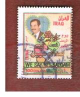 IRAQ    -  MI 1577 - 1997 REFERENDUM SECOND ANNIVERSARY  - USED ° - Iraq