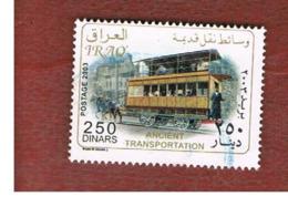 IRAQ    -  MI 1720  - 2004  HORSE TRAM - USED ° - Iraq