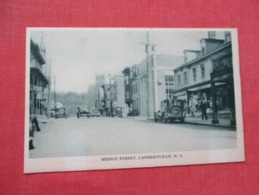 Bridge  Street  Lambertville   New Jersey      Ref 3645 - Vereinigte Staaten