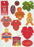Etiquettes De Fruits : Raisins Lot 18 - Fruit Labels Grapes Lot # 18 UVA - UVAS - Fruit En Groenten