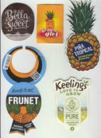 Etiquettes De Fruits : Ananas Lot 29 - Fruit Labels Pineapple Lot # 29 - Frutta E Verdura