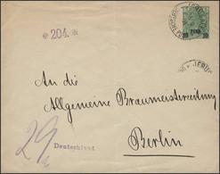 Deutsche Post In Der Türkei U 3 Germania Reichspost JERUSALEM 26.9.04 N. Berlin - Ohne Zuordnung
