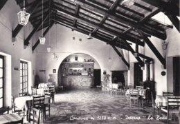 """CONSUMA - PELAGO - FIRENZE - MONTEMIGNAIO - INTERNO DE """"LA BAITA"""" - BAR CON MACCHINA DEL CAFFE' - LIQUORI - 1960 - Firenze (Florence)"""