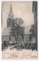 Vlissingen - Ned. Herv. Kerk - Animée Attelage De Chien - Hondenkar 1904 ( Avec Verso ) - Vlissingen