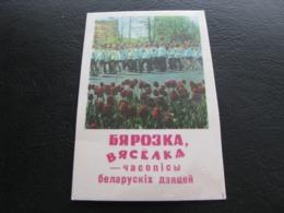 USSR Soviet Russia Pocket Calendar Parade Journal Merry Birch 1974 - Kalenders
