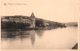 BELGIQUE - NAMUR - HASTIERE - La Meuse Et L'Eglise. - Hastière