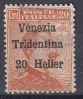 Italy Trento, Trentino, Venezia Tridentina 1918 Sassone#30 Used - Trente