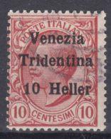 Italy Trento, Trentino, Venezia Tridentina 1918 Sassone#29 Used - Trente
