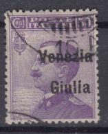 Italy Venezia Giulia 1918 Sassone#27 Used - Venezia Giulia
