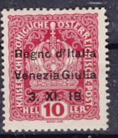 Italy Venezia Giulia 1918 Sassone#4 Mint Hinged - Venezia Giulia
