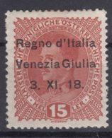 Italy Venezia Giulia 1918 Sassone#6 Mint Hinged - Venezia Giulia