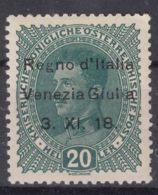 Italy Venezia Giulia 1918 Sassone#7 Mint Hinged - 8. WW I Occupation