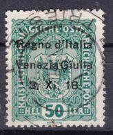 Italy Venezia Giulia 1918 Sassone#11 Used - Venezia Giulia
