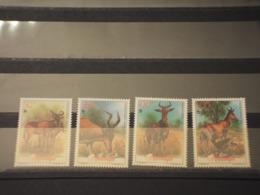 MOZAMBICO - 1991 WWF FAUNA 4 VALORI - (NUOVI++) - Mozambico