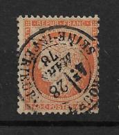 Frankreich  35 O Zahnfehler - 1870 Besetzung Von Paris