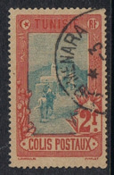 TUNISIE COLIS POSTAL N°9  Belle Oblitération - Used Stamps
