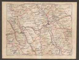 CARTE PLAN 1929 - SAINTE MÉNÉHOULD CLERMONT En ARGONNE VERDUN LES ÉPARGES ÉTAIN - Topographical Maps