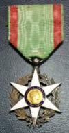 Orden Medaille Frankreich Verdienste Für Landwirtschaft Merite Agricole - Militaria