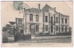Meung-sur-Loire - Ecole Supérieure De Jeunes Filles 1905 ( Avec Verso ) - Autres Communes