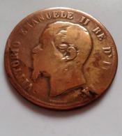 ITALIE : 10 CENTESIMI 1862(  (B1235) - 1861-1946 : Regno