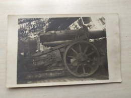 1 WK Photo German Soldaten Im Russland Kanone - Guerra, Militari