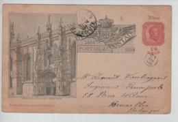 PR7308/ Portugal Entier CP 10 Reis Africa écrit St.Antonio 1901 Texte Congo Belge > BXL C.d'arrivée + C.facteur 412 - Postal Stationery