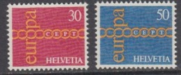 Europa Cept 1971 Switzerland 2v ** Mnh (44858F) - Europa-CEPT