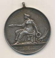 Medaille Frankreich 1873 Fete Communale De Croix Ca. Ø 50 Mm Ca 64 G - Frankreich