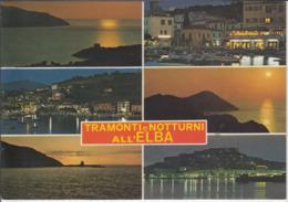 ISOLA D'ELBA - Tramonti E Notturni   Viaggiata - Italie